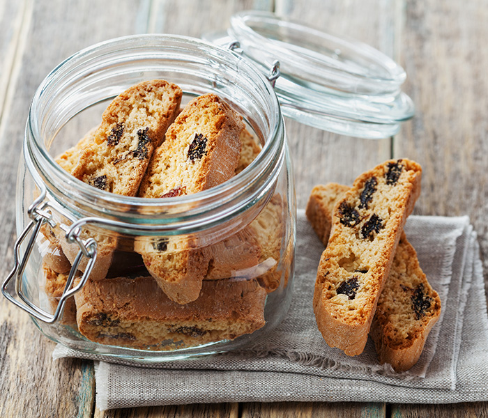 Chocolate and Coffee Biscotti